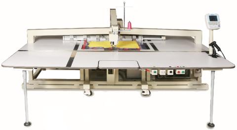 Автоматическая одноголовочная швейная машина (усовершенствованная модель для тонких материалов)