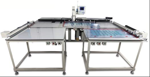 Автоматическая одноголовочная швейная машина с автоматической загрузкой шаблонов