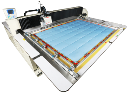 Широкоформатная автоматическая швейная машина - машина для спальных мешков