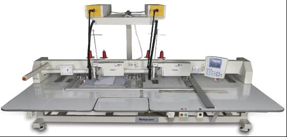 Автоматическая швейная машина с функцией лазерной резки