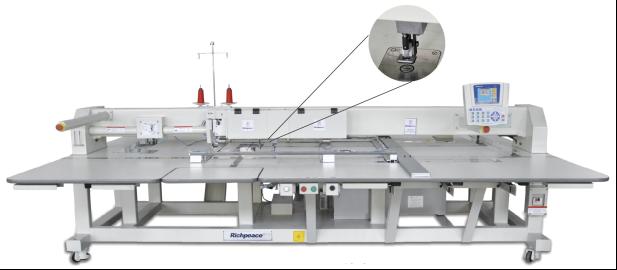 Автоматическая швейная машина с функцией резки