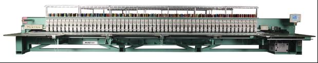Автоматическая кружевная вышивальная машина
