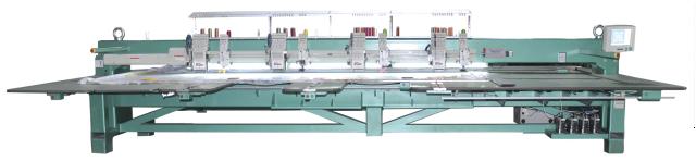 Автоматическая вышивальная машина с функцией вышивания тесьмой (специальная серия для войлока)