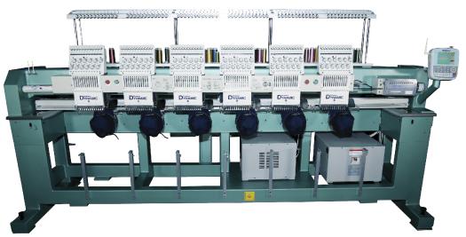 Автоматическая цилиндрическая вышивальная машина
