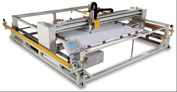 Автоматическая одноголовочная стегальная машина (поднимающаяся головка)