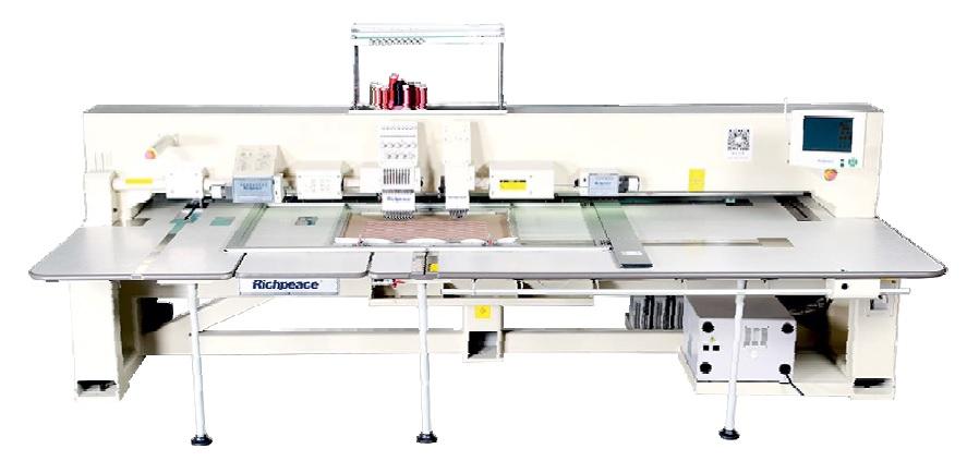 Автоматическая вышивальная машина с функцией перфорирования