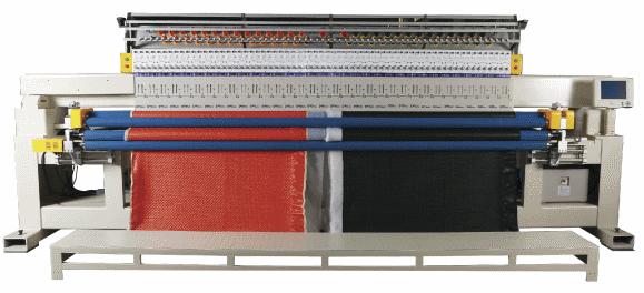Автоматическая одноцветная одноваловая стегально-вышивальная машина