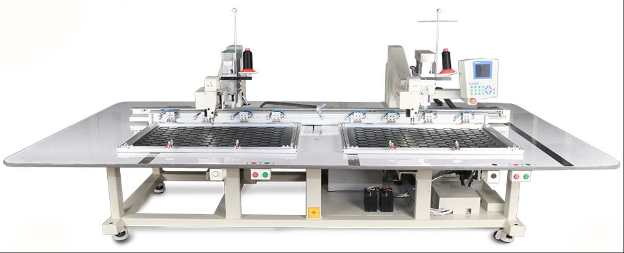 Автоматическая двухголовочная швейная машина (для тяжелых материалов)