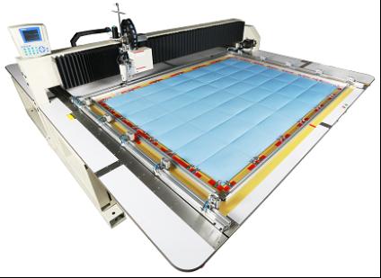 Широкоформатная автоматическая швейная машина — машина для спальных мешков