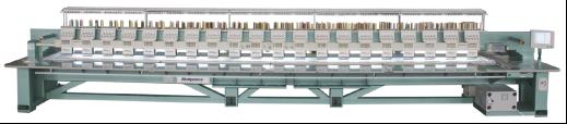Автоматическая крупноформатная машина плоской вышивки