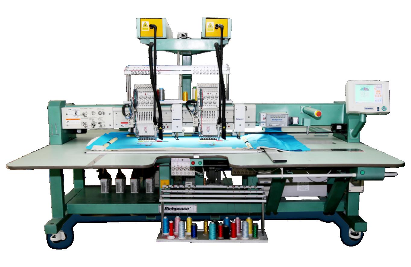 Автоматическая вышивальная машина с функцией вышивания синелью