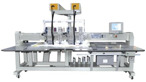 Автоматическая вышивальная машина с функцией вышивания тесьмой