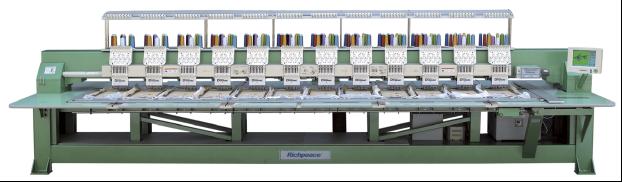 Автоматическая вышивальная машина для объемной вышивки