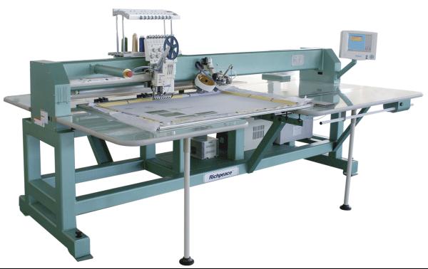 Автоматическая вышивальная машина с функцией закрепления страз