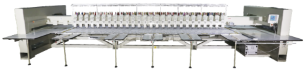 Автоматическая машина для вышивания вискозы