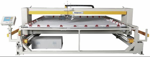 Автоматическая одноголовочная стегальная машина (вращающаяся головка)