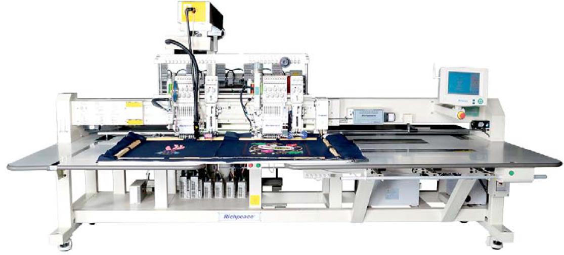 Автоматическая специальная вышивальная машина 5 + 5